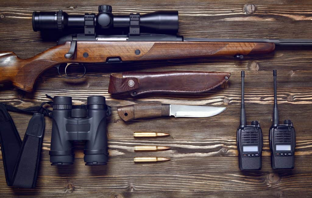 necessary hunting gear