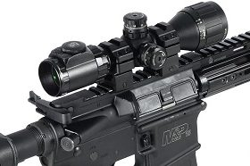 scope on a rifle