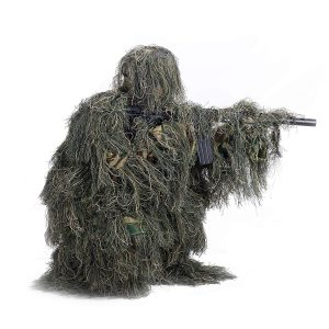 Pinty Ghillie Suit 3D 4-Piece with Bag