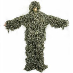 VIVO Ghillie Suit Camo Woodland Camouflage