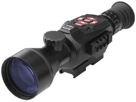 a black scope