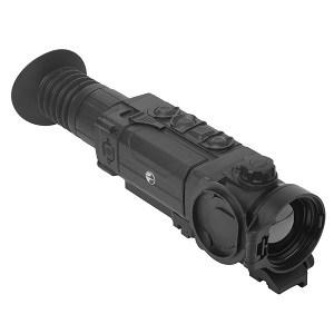 long black scope on white background