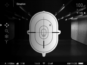 zeroing on a target